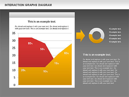 Interaction Graphs Diagram (Data Driven), Slide 13, 00806, Business Models — PoweredTemplate.com