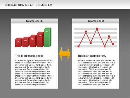 Interaction Graphs Diagram (Data Driven), Slide 14, 00806, Business Models — PoweredTemplate.com