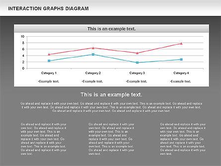 Interaction Graphs Diagram (Data Driven), Slide 15, 00806, Business Models — PoweredTemplate.com