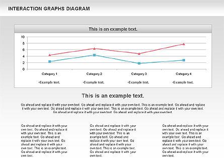 Interaction Graphs Diagram (Data Driven), Slide 5, 00806, Business Models — PoweredTemplate.com