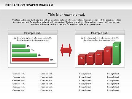 Interaction Graphs Diagram (Data Driven), Slide 6, 00806, Business Models — PoweredTemplate.com