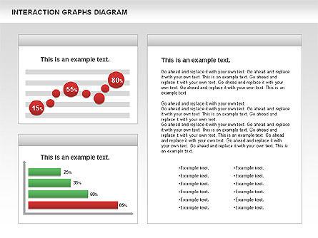 Interaction Graphs Diagram (Data Driven), Slide 7, 00806, Business Models — PoweredTemplate.com