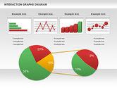 Business Models: Interaction Graphs Diagram (Data Driven) #00806