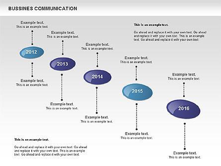 Creative Dotted Business Charts, Slide 10, 00808, Presentation Templates — PoweredTemplate.com