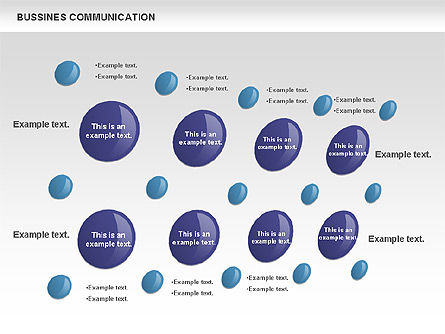 Creative Dotted Business Charts, Slide 11, 00808, Presentation Templates — PoweredTemplate.com