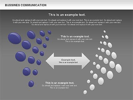 Creative Dotted Business Charts, Slide 15, 00808, Presentation Templates — PoweredTemplate.com