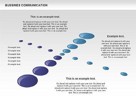 Creative Dotted Business Charts, Slide 3, 00808, Presentation Templates — PoweredTemplate.com