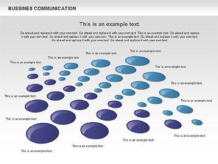 Creative Dotted Business Charts, Slide 6, 00808, Presentation Templates — PoweredTemplate.com