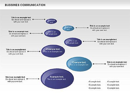 Creative Dotted Business Charts, Slide 7, 00808, Presentation Templates — PoweredTemplate.com