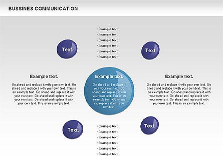 Creative Dotted Business Charts, Slide 9, 00808, Presentation Templates — PoweredTemplate.com