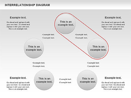 Interrelationship Diagram, Slide 2, 00809, Business Models — PoweredTemplate.com