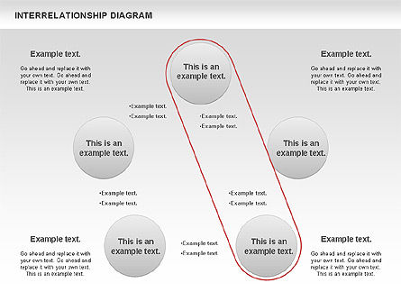 Interrelationship Diagram, Slide 3, 00809, Business Models — PoweredTemplate.com