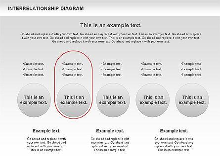 Interrelationship Diagram, Slide 6, 00809, Business Models — PoweredTemplate.com