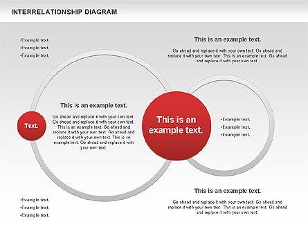Interrelationship Diagram, Slide 8, 00809, Business Models — PoweredTemplate.com