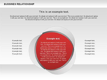 Business Relationship Shapes, Slide 10, 00810, Business Models — PoweredTemplate.com
