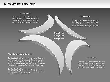 Business Relationship Shapes, Slide 15, 00810, Business Models — PoweredTemplate.com