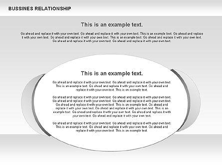 Business Relationship Shapes, Slide 6, 00810, Business Models — PoweredTemplate.com