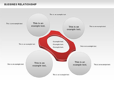 Business Relationship Shapes, Slide 7, 00810, Business Models — PoweredTemplate.com