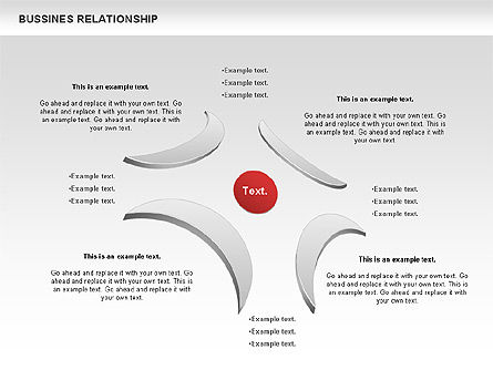 Business Relationship Shapes, Slide 9, 00810, Business Models — PoweredTemplate.com