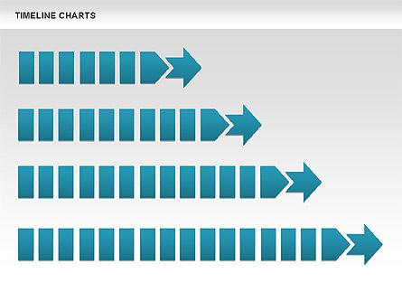 Dotted Timeline Chart, Slide 10, 00812, Timelines & Calendars — PoweredTemplate.com