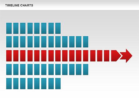 Dotted Timeline Chart, Slide 11, 00812, Timelines & Calendars — PoweredTemplate.com