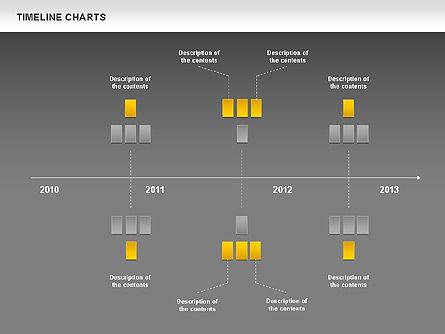 Dotted Timeline Chart, Slide 15, 00812, Timelines & Calendars — PoweredTemplate.com
