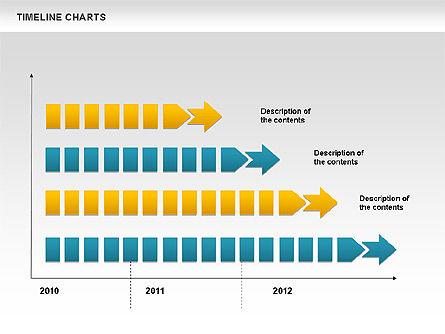 Dotted Timeline Chart Slide 2