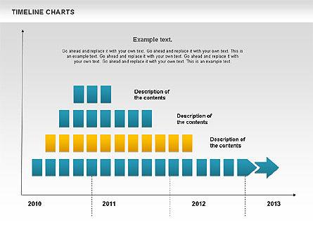 Dotted Timeline Chart Slide 3