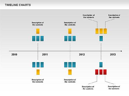 Dotted Timeline Chart, Slide 7, 00812, Timelines & Calendars — PoweredTemplate.com
