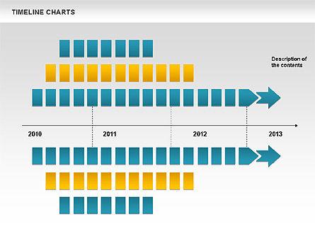 Dotted Timeline Chart, Slide 9, 00812, Timelines & Calendars — PoweredTemplate.com