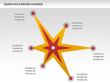 Radar Data-Driven Diagram, Slide 3, 00813, Business Models — PoweredTemplate.com