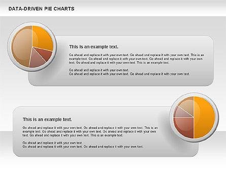 Data-Driven Pie Chart, Slide 2, 00814, Pie Charts — PoweredTemplate.com