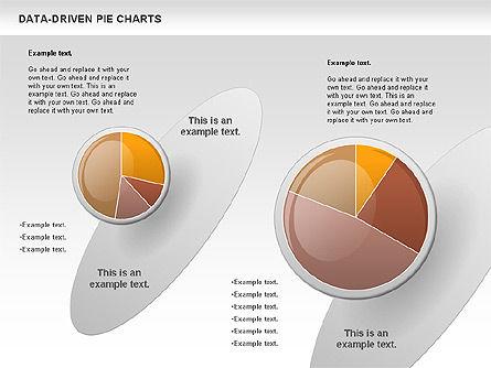 Data-Driven Pie Chart, Slide 3, 00814, Pie Charts — PoweredTemplate.com