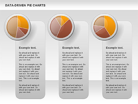 Data-Driven Pie Chart, Slide 4, 00814, Pie Charts — PoweredTemplate.com