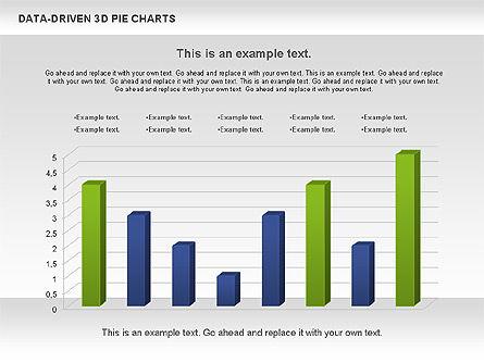 Data-Driven 3D Pie Chart, Slide 11, 00817, Pie Charts — PoweredTemplate.com
