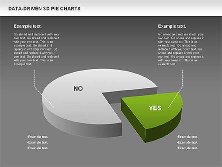 Data-Driven 3D Pie Chart, Slide 12, 00817, Pie Charts — PoweredTemplate.com