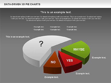 Data-Driven 3D Pie Chart, Slide 14, 00817, Pie Charts — PoweredTemplate.com