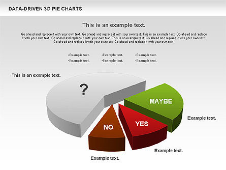 Data-Driven 3D Pie Chart, Slide 3, 00817, Pie Charts — PoweredTemplate.com