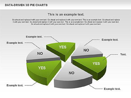 Data-Driven 3D Pie Chart, Slide 7, 00817, Pie Charts — PoweredTemplate.com