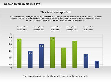Data-Driven 3D Pie Chart, Slide 8, 00817, Pie Charts — PoweredTemplate.com