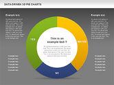 Data-Driven 3D Pie Chart#15