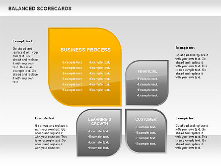 Petals Balanced Scorecards, 00818, Business Models — PoweredTemplate.com