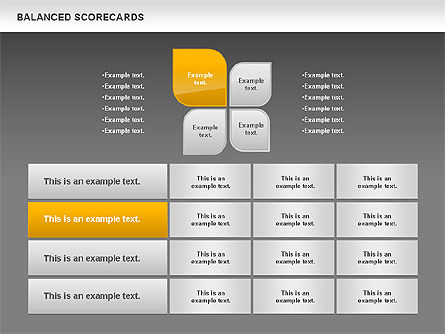 Petals Balanced Scorecards, Slide 12, 00818, Business Models — PoweredTemplate.com