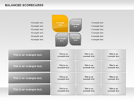 Petals Balanced Scorecards, Slide 8, 00818, Business Models — PoweredTemplate.com