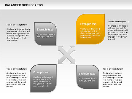 Petals Balanced Scorecards, Slide 9, 00818, Business Models — PoweredTemplate.com