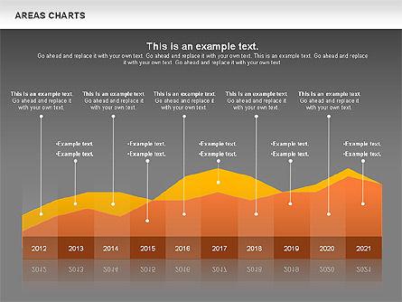 Area Chart, Slide 12, 00819, Business Models — PoweredTemplate.com