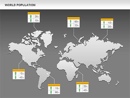World Economy Diagram, Slide 12, 00820, Business Models — PoweredTemplate.com