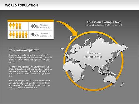 World Economy Diagram, Slide 13, 00820, Business Models — PoweredTemplate.com