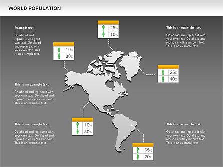 World Economy Diagram, Slide 15, 00820, Business Models — PoweredTemplate.com