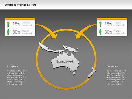 World Economy Diagram, Slide 16, 00820, Business Models — PoweredTemplate.com